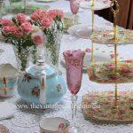 Luxury High Tea Table Setting