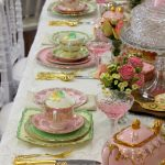 Luxury Vintage High Tea | Pink & Green