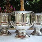 Vintage Silver Champagne Buckets ~ $20 ~ Qty: 10