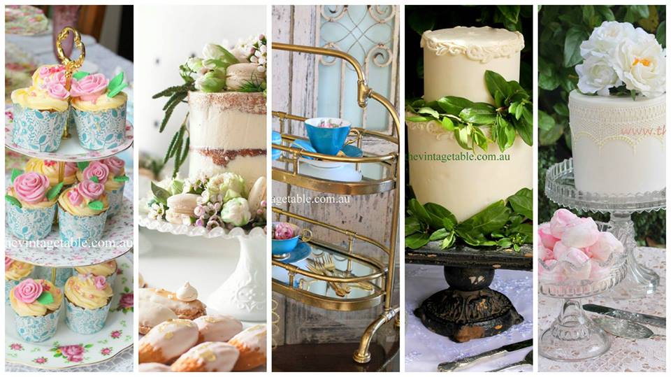 Cake Stand Hire | The Vintage Table Perth