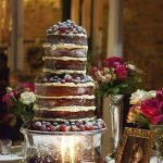Vintage Wedding Cake Silver Stand