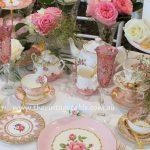 Pink & Gold Luxury High Tea