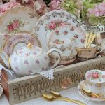 Luxury Vintage Fine China & Gold Cutlery