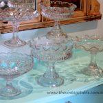 Vintage Crystal & Glass Compotes