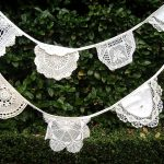Vintage Lace Doiley Bunting