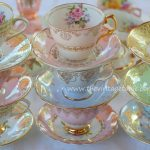 Traditional Fine Bone Vintage China Tea Sets
