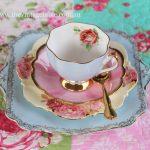 Mismatched Vintage Tea Set