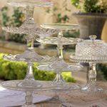 Assorted Vintage Glass Pedestals  $14   Quantity 25