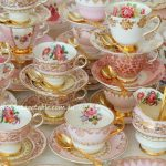 Vintage Pink & Gold Luxury High Tea | 120 available