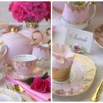 Luxury Pink & Gold High Tea