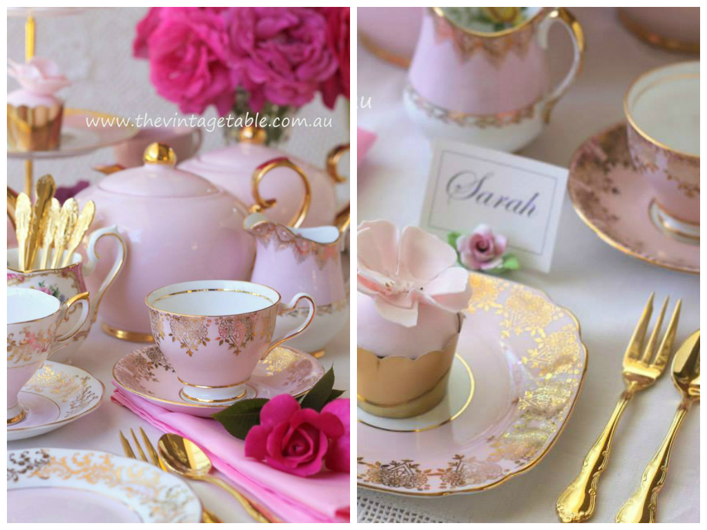 pinkgoldcollage