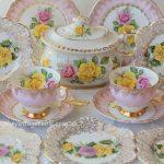 Vintage Roses Tea Sets