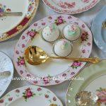 Large Vintage China Serving Platters & Servers