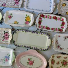Vintage Sandwich/Cake Trays
