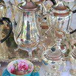 Vintage Silver Coffee Pots & Tray