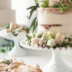 Vintage Milk Glass | Cakes by The Garnished Co
