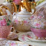 Vintage Pink & Gold Fine Bone China