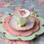 Eclectic Mismatched Tea Set