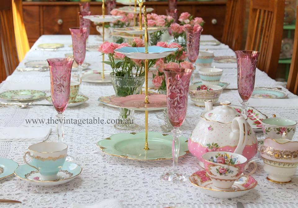 High Tea Hire | The Vintage Table Perth