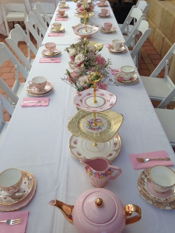 An All-Pink Bridal Shower