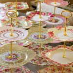 Three Tier Cake Stands ~ Vintage Bone China Plates