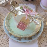 Eclectic High Tea Place Setting