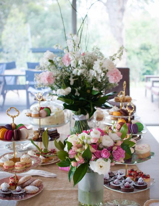40th Birthday High Tea Buffet