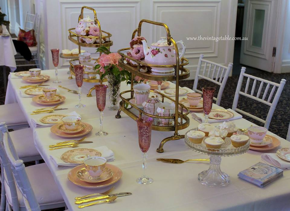 The Vintage Table Perth | High Tea Hire