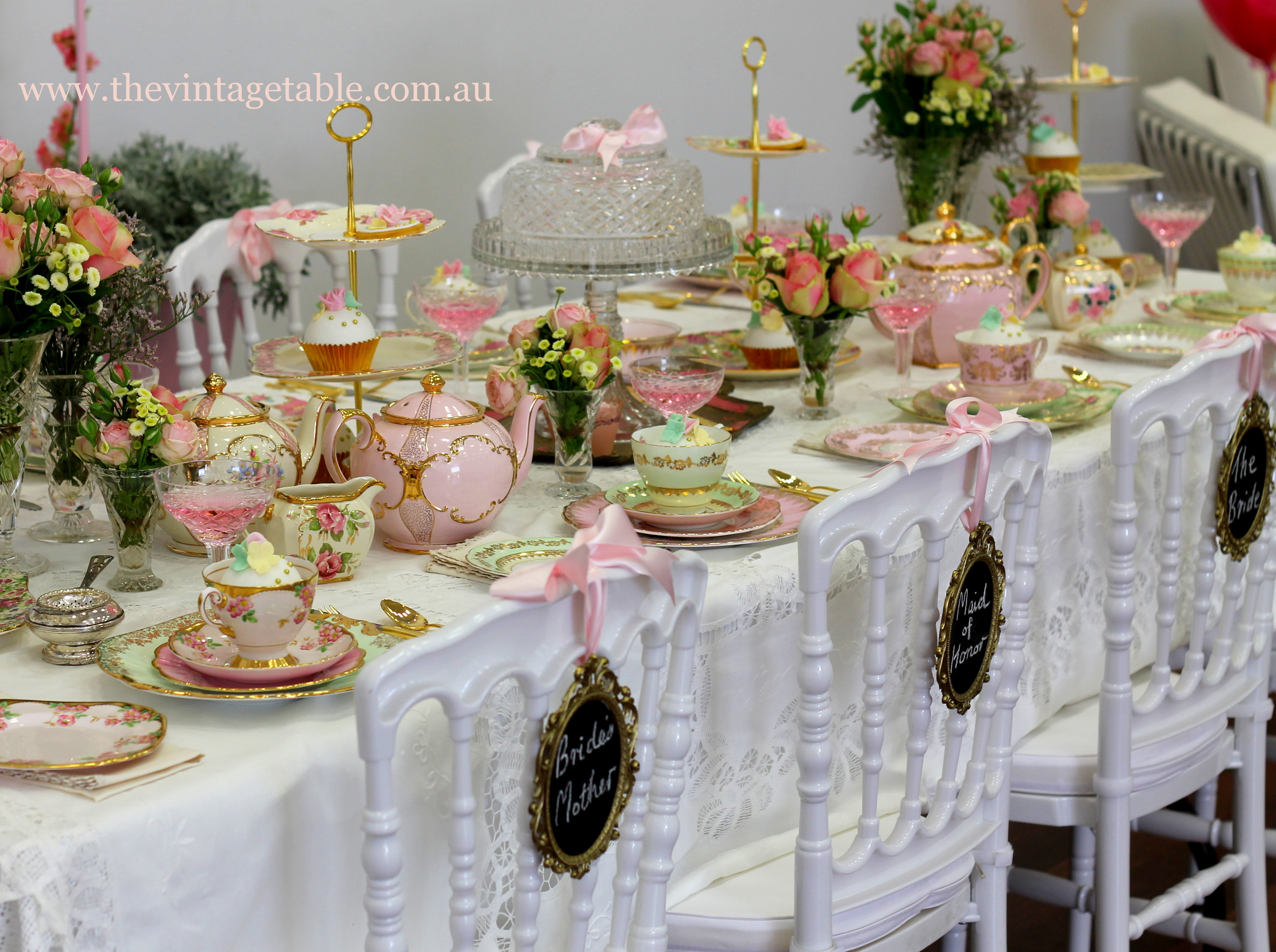 The Vintage Table Vintage China Hire Events Amp Media