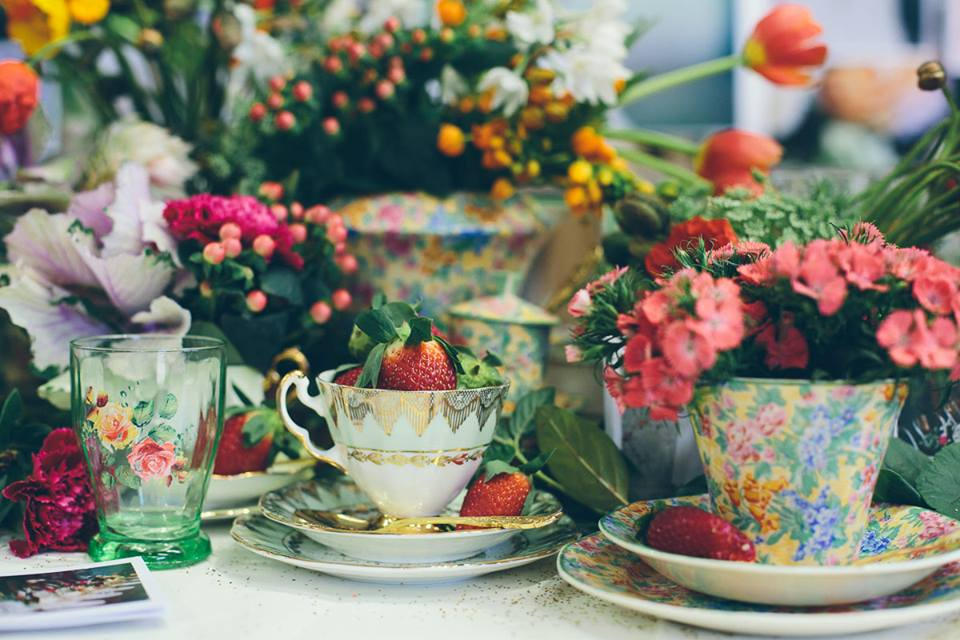 Spring High Tea - Vintage Table Perth