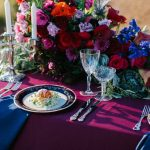Vintage Dinner Plates, Silver Cutlery, Crystal & Candelabras | Image Flossy Photography