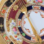 Antique Dinner Plate Setting | Heirloom Collection