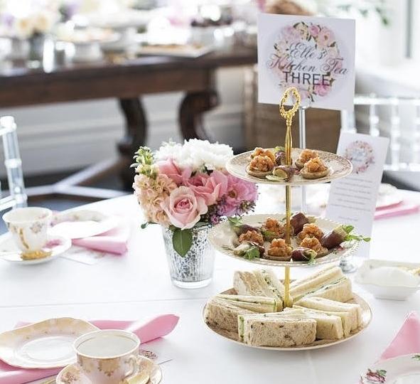 Bridal Shower High Tea | Vintage Table Perth