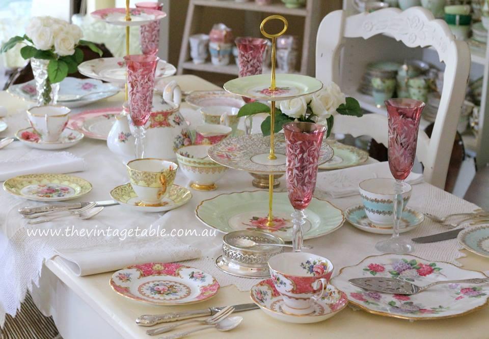 Vintage High Tea The Vintage Table