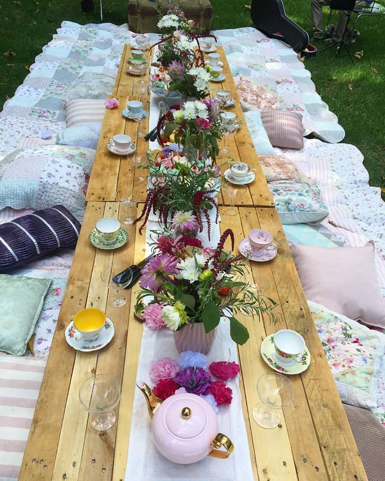 Picnic Bridal Shower High Tea | Image from Client