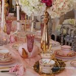 Pink & Gold Luxury High Tea | Styling & Florals by Chandelabra