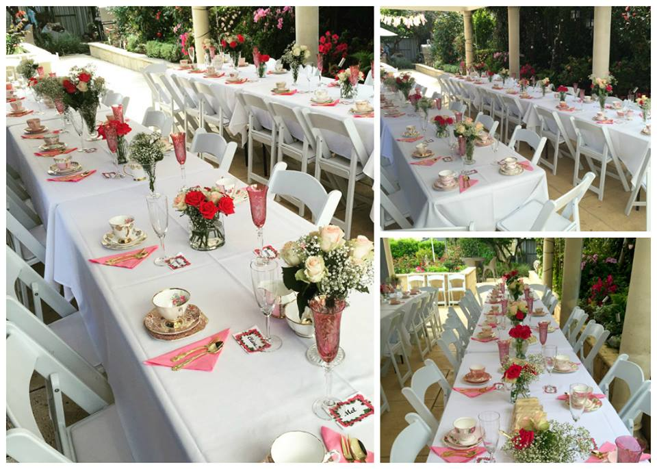 Pink & Gold Baby Shower High Tea Party