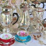 Vintage Silver Coffee Pots & Trays