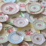 Vintage Dinner, Entree & Side Plates | Botanical Collection