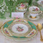 The Botanical Collection with Gold Cutlery