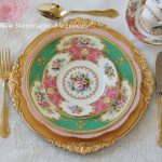 Vintage Style Baroque Gold Charger Plate ~ Dinner, Entree & Side Plates