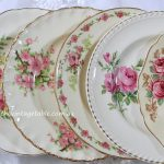 Vintage Floral Entree & Dinner Plates | Botanical Collection