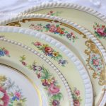 The Botanical Collection | Vintage Dinner Plates