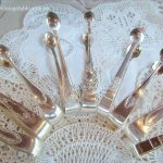 Vintage Silver Sugar Tongs