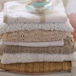 Vintage Hand Crocheted Lace Tablecloths ~ White & Ivory