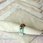 Vintage Linen, Damask & Lace Napkins - White & Ivory