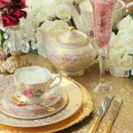 Champagne Sequin Round Table Cloth 280cm - Cake or Signing Table - $35 - Qty: 1