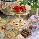 Vintage Three Tiered Cake Stands