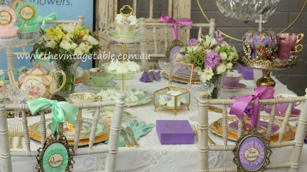 Marie Antoinette Tea Party