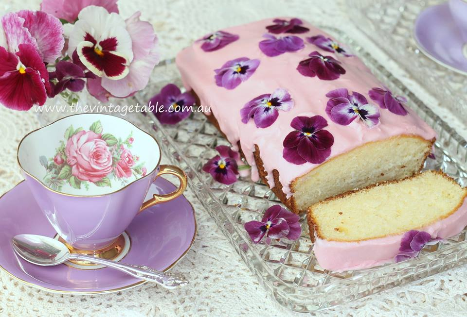 Lemon Cake & High Tea Party | The Vintage Table, Perth